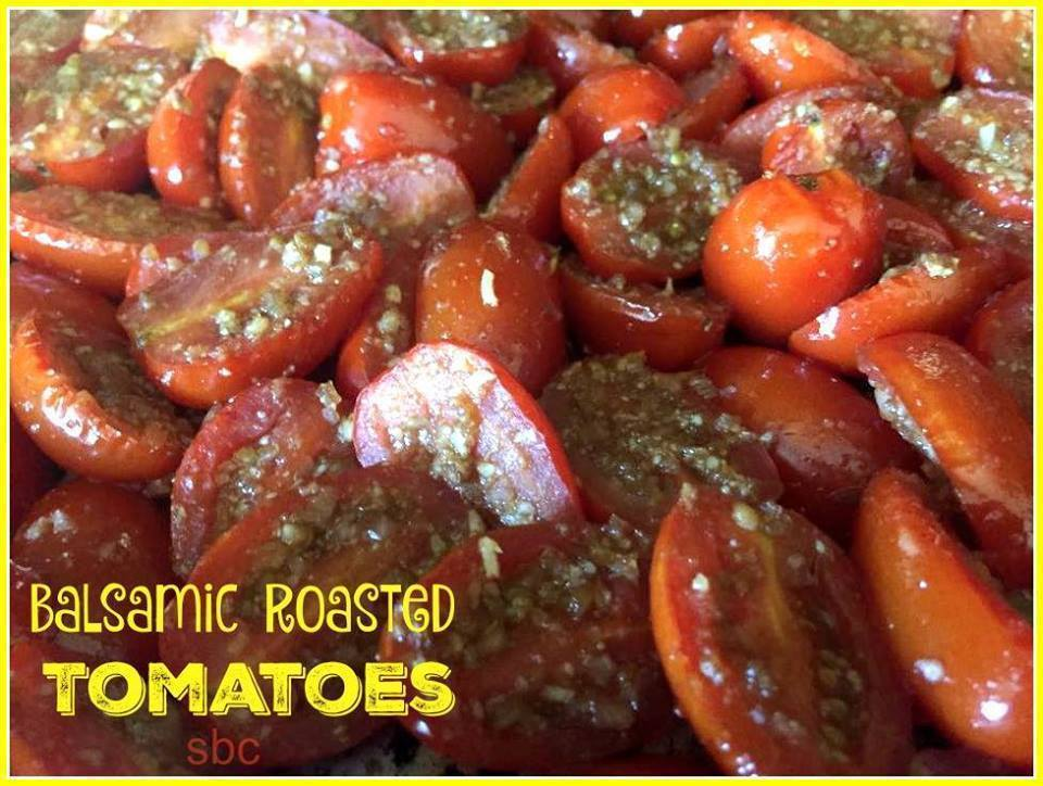 Balsamic Roasted Tomatoes