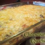 Cheeseburger Quiche