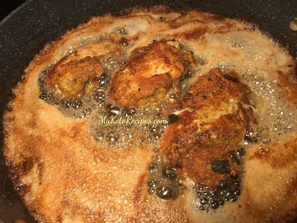 Keto Southern Fried Chicken