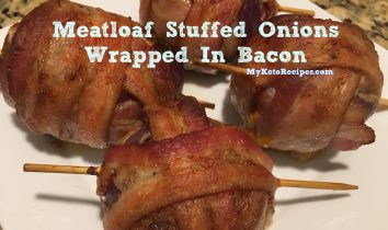 Meatloaf Stuffed Onions Bacon