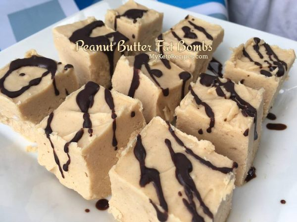 Peanut Butter Fat Bombs Keto Diet Snack