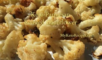 Keto Parmesan Roasted Cauliflower