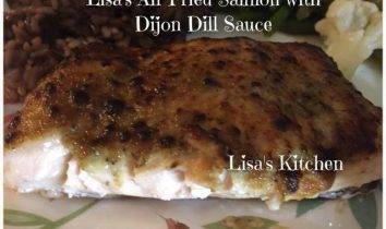 Keto Salmon with Dijon Dill Sauce